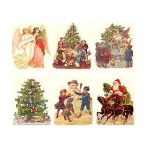 Uusvanhat joulukoristeet